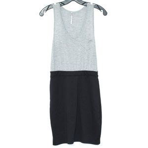 Audrey 3+1 Dress Sleeveless Black Gray Medium